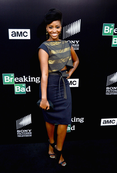 Teyonah Parris Pencil Skirt