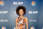 Thandie Newton Cutout Dress