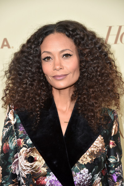Thandie Newton Long Curls [the hollywood reporter,hair,human hair color,hairstyle,beauty,long hair,black hair,fashion model,ringlet,hair coloring,brown hair,nominees,reporter,contenders,arrivals,contenders,thandie newton,celebrate emmy award,hollywood,sag-aftra]