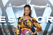 Thandie Newton Print Dress