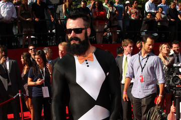 Brian Wilson Stuns in a Spandex Tuxedo Jumpsuit at the ESPY Awards