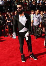 As San Franciscans, we have to say that Giants pitcher Brian Wilson can just do no wrong. What of his spandex tuxedo you ask? Fabulous. Fear the beard!