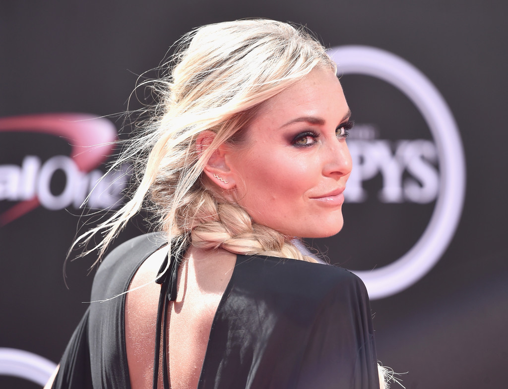 More Pics of Lindsey Vonn Long Braided Hairstyle (1 of 15)  Lindsey