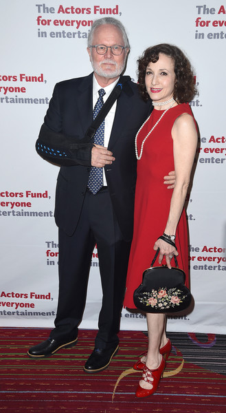 More Pics of Bebe Neuwirth Pumps (1 of 4) - Bebe Neuwirth Lookbook - StyleBistro [carpet,suit,event,formal wear,premiere,dress,tuxedo,red carpet,flooring,new york city,marriott marquis times square,actors fund 2016 gala,the actors fund 2016 gala,chris calkins,bebe neuwirth]