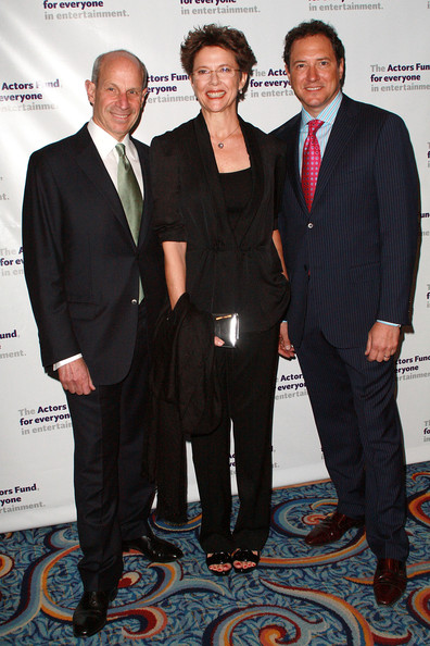 More Pics of Annette Bening Messy Cut (1 of 9) - Annette Bening Lookbook - StyleBistro [suit,event,white-collar worker,formal wear,award,premiere,tuxedo,jonathan tisch,kevin mccollum,annette bening,new york city,actors fund,the new york marriott marquis,actors fund annual gala,gala]