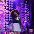 Solange Knowles Lookbook: Solange Knowles wearing Vika Gazinskaya Mini Skirt (3 of 32). Solange Knowles let her inner child out with this mini skirt printed with cloud sketches.