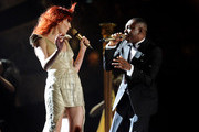 Florence Welch and Dizzee Rascal Photo
