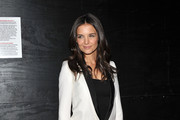 Actress Katie Holmes attends the premiere of