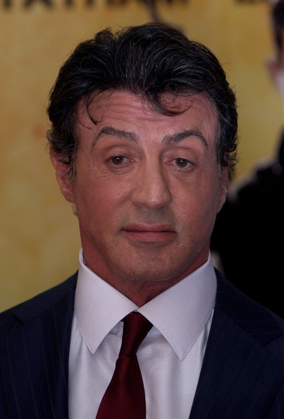 More Pics of Sylvester Stallone Classic Solid Tie (1 of 8) - Sylvester Stallone Lookbook - StyleBistro