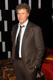 Will Ferrell looked dapper in a mocha colored blazer.