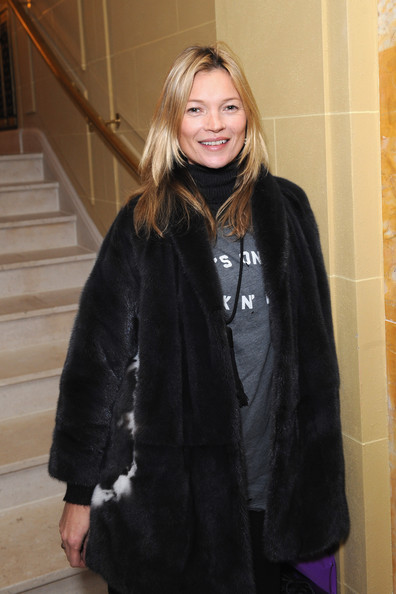 More Pics of Kate Moss Fur Coat (4 of 4) - Kate Moss Lookbook - StyleBistro
