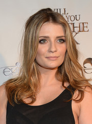 Mischa Barton wore her hair in tousled waves at the premiere of 'I Will Follow You Into the Dark.'