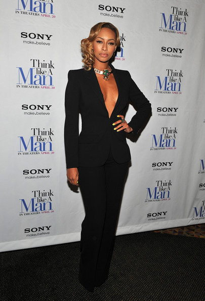 Keri Hilson brought the heat to the 'Think Like a Man' screening in this skin-baring suit.