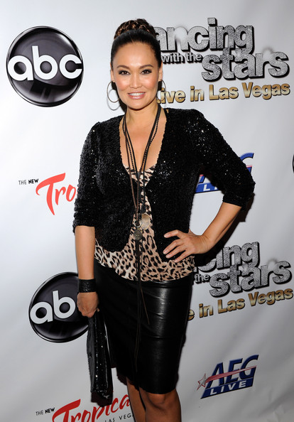 Tia Carrere Sequined Jacket