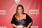 Tia Carrere Strapless Dress