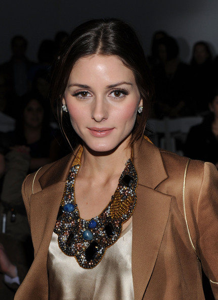 Olivia+Palermo in Tibi - Front Row - Fall 2010 MBFW