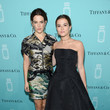 Riley Keough and Zoey Deutch at the Tiffany & Co. Fragrance Launch Event