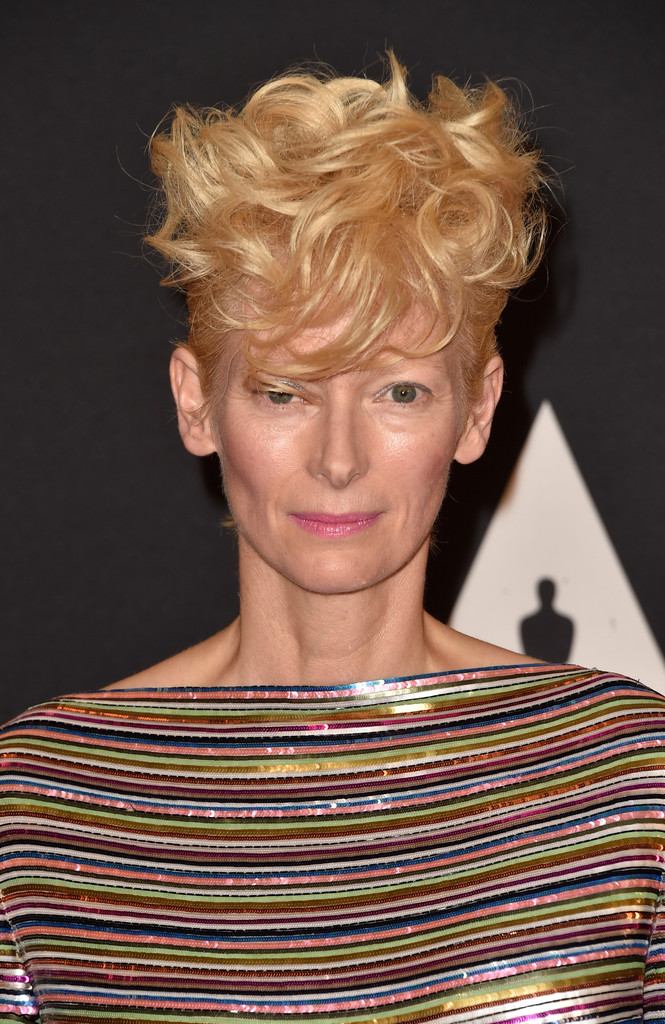 Tilda Swinton Messy Cut Messy Cut Lookbook Stylebistro