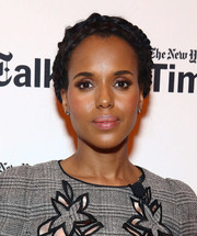 Kerry Washington looked romantic wearing this crown braid during TimesTalks Presents.
