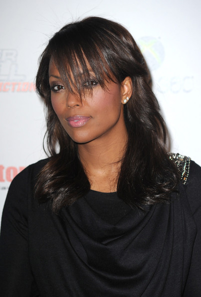 More Pics of Aisha Tyler Metallic Clutch (1 of 5) - Aisha Tyler Lookbook - StyleBistro