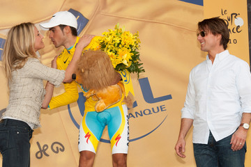 Tom Cruise Cameron Diaz Tom Cruise And Cameron Diaz Attend The Eighteen Stage Of Le Tour