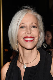 Linda Fargo kept it classic and elegant with this bob at the Tom Ford fashion show.