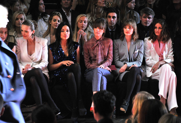 Tommy Hilfiger - Front Row - Fall 2011 Mercedes-Benz Fashion Week