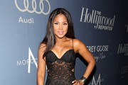 Toni Braxton Evening Dress