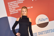 Toni Garrn Form-Fitting Dress