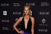 Toni Garrn Halter Dress
