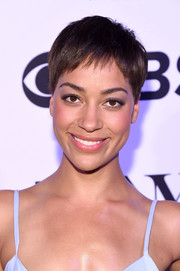 Cush Jumbo's pixie always looks adorable!