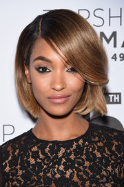 Jourdan Dunn attended the Topman New York City flagship opening dinner wearing a perfectly sleek bob.