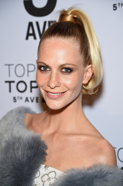 Poppy Delevingne's High-Top Tail