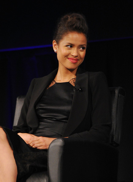 More Pics of Gugu Mbatha-Raw Little Black Dress (3 of 28) - Gugu Mbatha-Raw Lookbook - StyleBistro