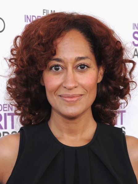 Tracee Ellis Ross red hair