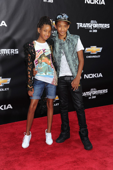 Jayden and Willow Smith