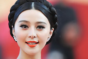 Fan Bing Bing amped up her look with fluttering false lashes at the Cannes Film Festival.