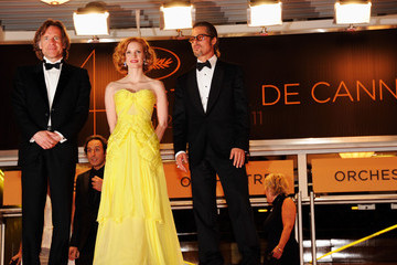 "Brad Pitt Jessica Chastain ""The Tree Of Life"" Premiere - 64th Annual Cannes Film Festival"