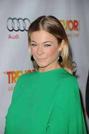LeAnn Rimes wore her hair in soft, sleek curls at The Trevor Project's 2011 Trevor Live!.