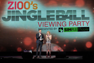 Trey Morgan Bridgit Mendler Z100 Jingle Ball 2012 Viewing Party Presented By Simple Mobile - Show