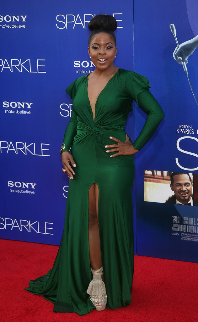 Brely Evans Green Gown Best Amp Worst Dressed Sparkle