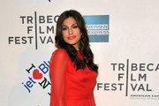 Actress Eva Mendes attends the premiere of