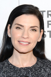 Julianna Margulies kept it simple with this loose side-parted style at the Tribeca Film Fest screening of 'The Good Wife.'
