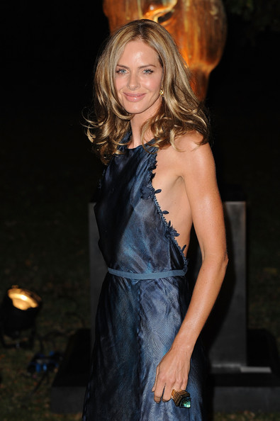 Trinny Woodall Statement Ring [clothing,dress,hairstyle,long hair,blond,fashion,brown hair,event,cocktail dress,premiere,raisa gorbachev foundation - party arrivals,trinny woodall,raisa gorbachev,fundraising work,stud house,england,london,hampton court,garden party]