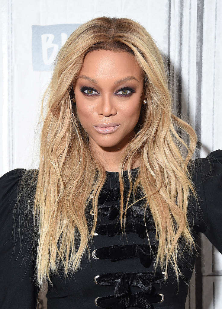 """tyra banks Tyra banks, the former host of """"america's next top model,"""" will make her  teaching debut at stanford university next may, as co-instructor of a."""