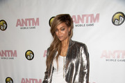 Tyra Banks Sequined Jacket