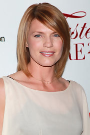 Kathleen wore glossy hair her  straight and side-swept to the UCLA Taste For A Cure event in LA.