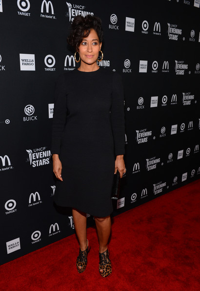 More Pics of Tracee Ellis Ross Bobby Pinned Updo (6 of 6) - Tracee Ellis Ross Lookbook - StyleBistro