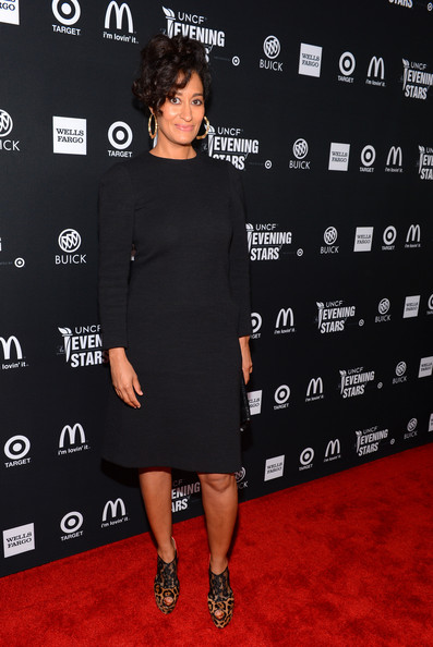 More Pics of Tracee Ellis Ross Bobby Pinned Updo (4 of 6) - Tracee Ellis Ross Lookbook - StyleBistro