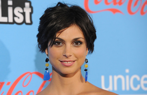 More Pics of Morena Baccarin Peep Toe Pumps (5 of 21) - Morena Baccarin Lookbook - StyleBistro